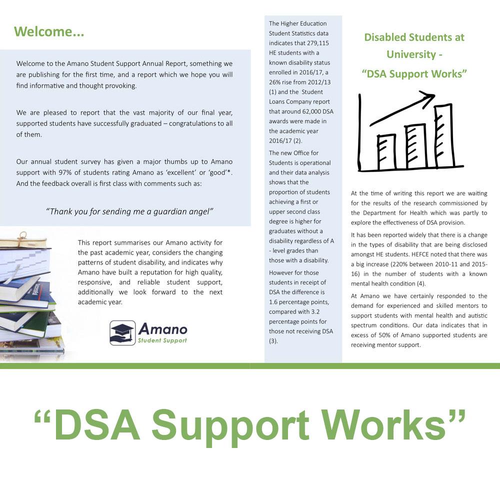 DSA Support Works
