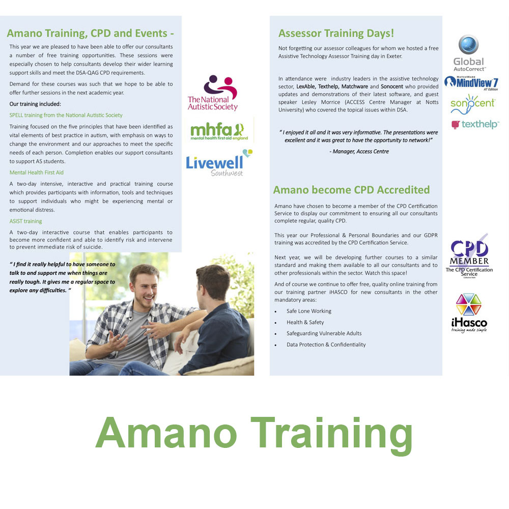 Amano Training