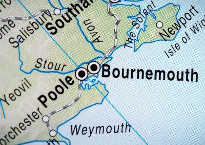 Amano Bournemouth Map