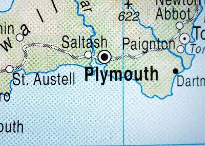 Amano Plymouth Map